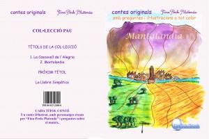 1 portada y contraportada mantalandia con letras valenciano