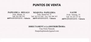 PUNTOS VENTA CASTELLANO