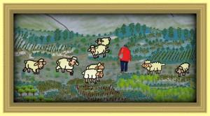 pastor ovejas